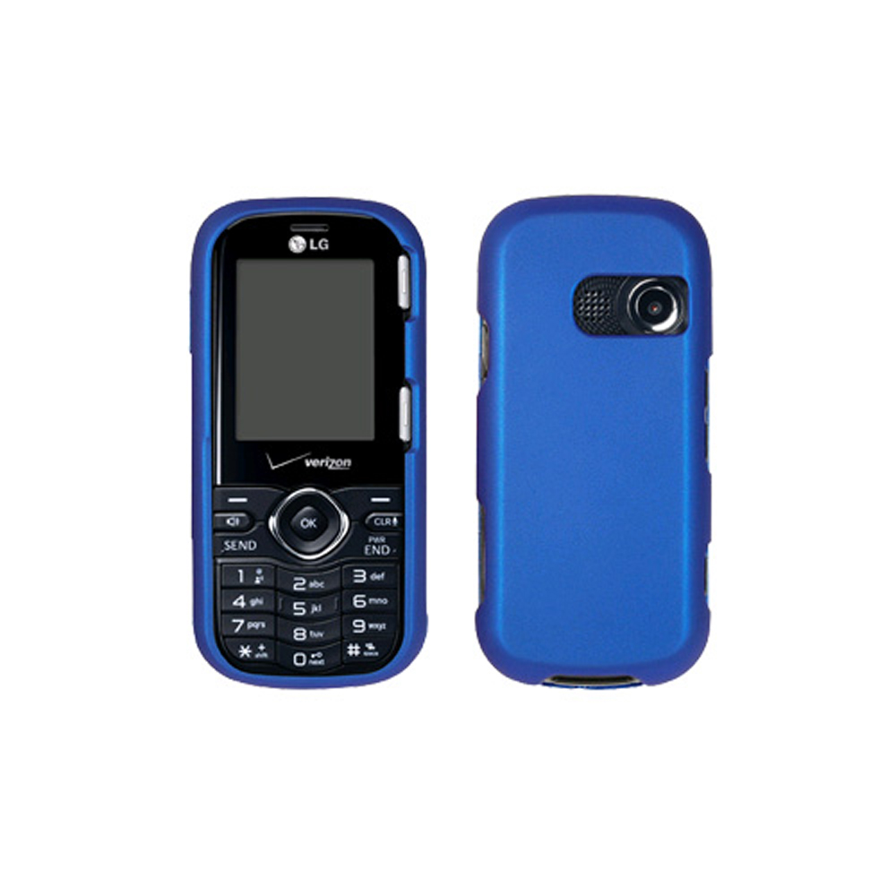 Verizon Hard Snap-On Case for LG Cosmos VN250 - Blue