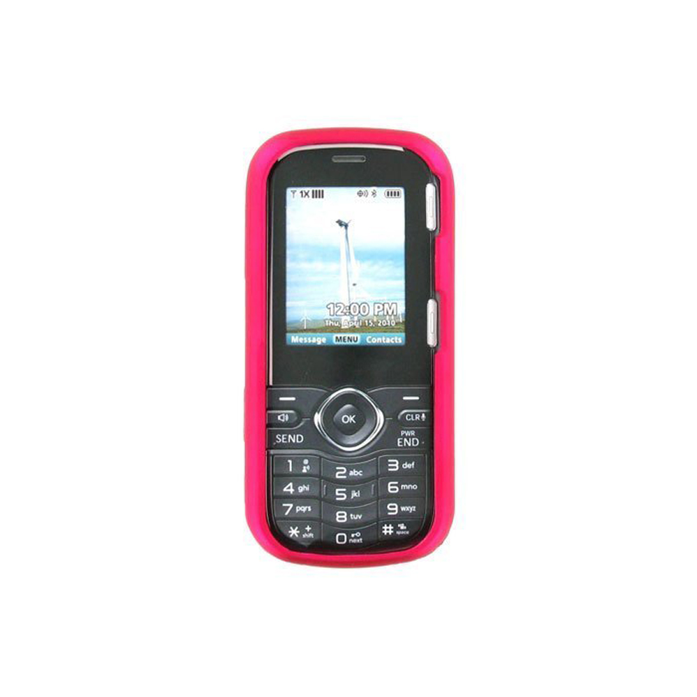 Verizon Impact/Scratch Resistant Snap-On Case for LG Cosmos VN250 - Pink