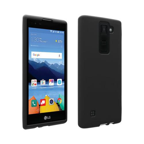 Verizon Matte Silicone Case for LG K8 V VS500 - Black