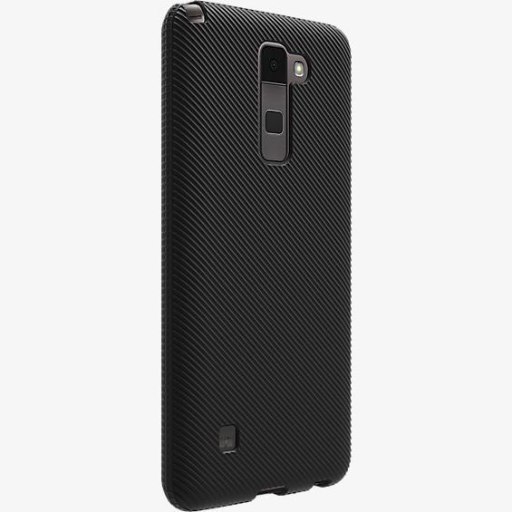 Verizon Textured Silicone Case for LG Stylo 2 V - Black