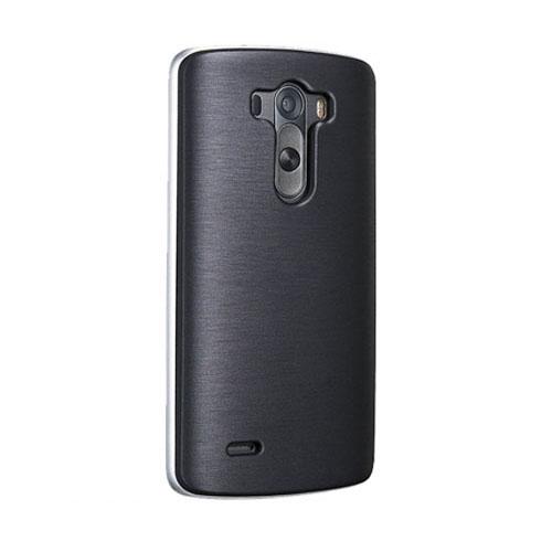 Verizon High Gloss Silicone Case for LG Lancet VW820 - Black