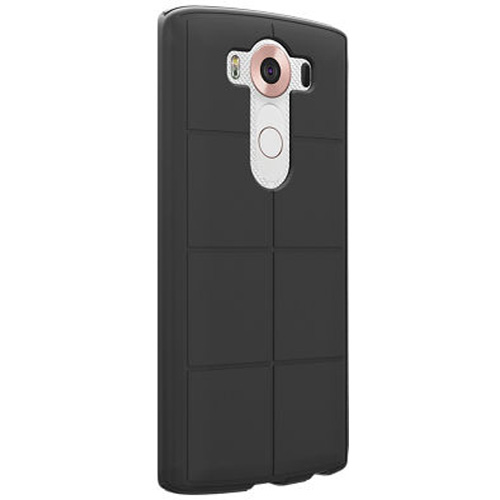 Verizon Silicone Case for LG V10 - Matte Black