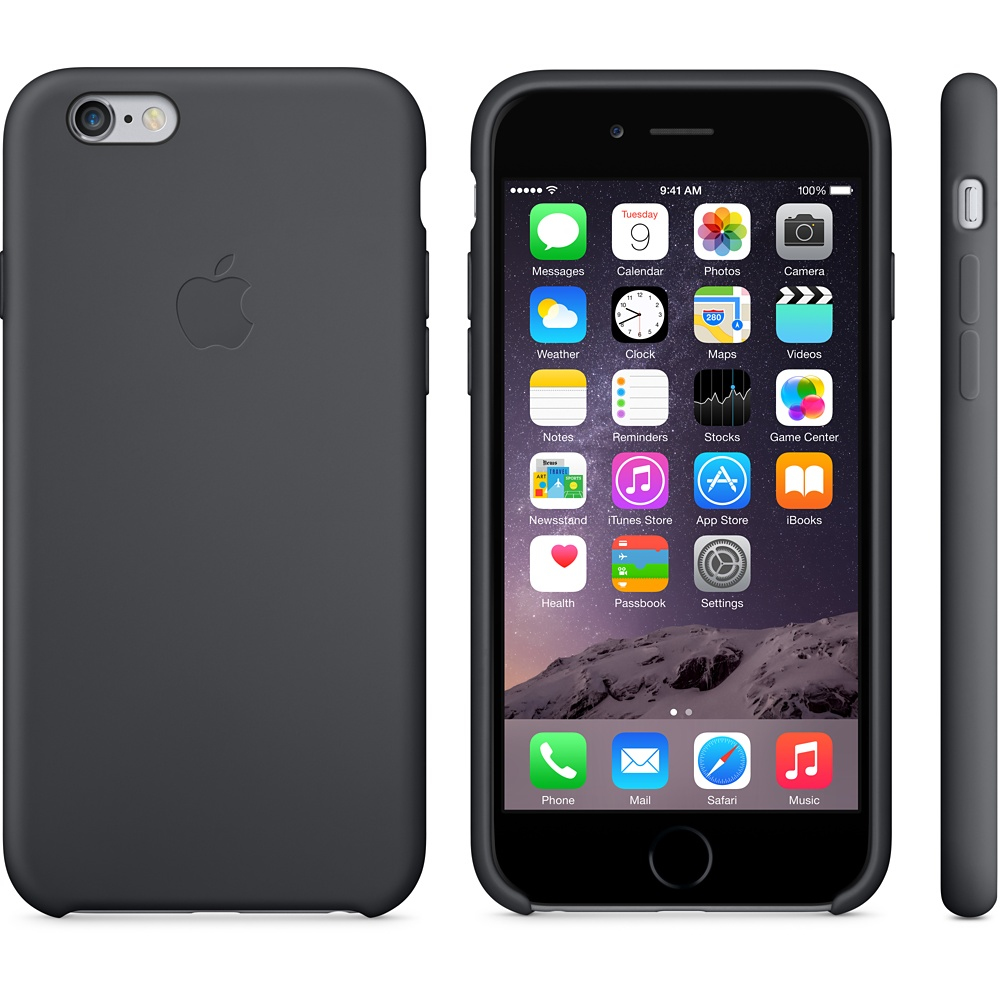 size 40 08f12 48d69 Original Apple Silicone Case for Apple iPhone 6/6S - Black