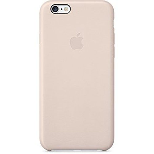 meet df321 f14ce Original Apple Leather Case for iPhone 6/6S - Soft Pink