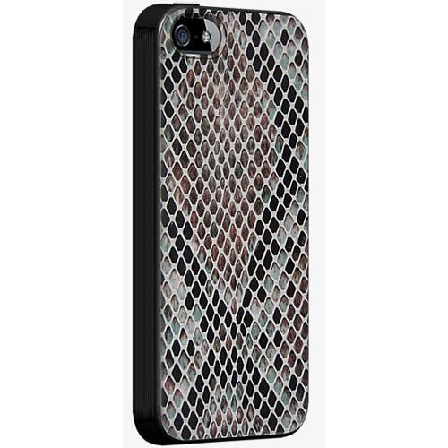 Milk & Honey Snake Skin Case for iPhone SE2, 5, 5S, SE - Black/Snake Skin