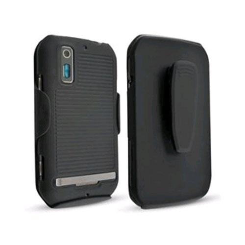 Technocel Shield and Holster Combo for Motorola Sunfire - Black