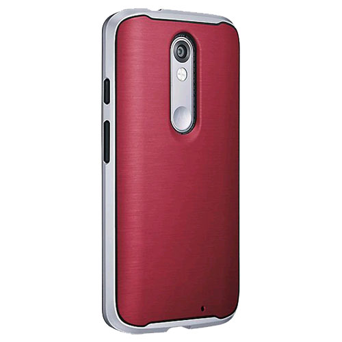 Verizon Soft Bumper Case for Motorola Droid Turbo 2 - Marsala Red