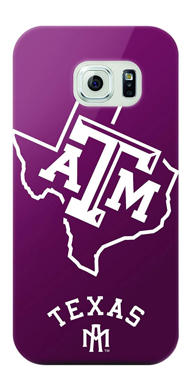 Mizco Sports NCAA Oversized Snapback TPU Case for Galaxy S6 (Texas A&M Aggies)
