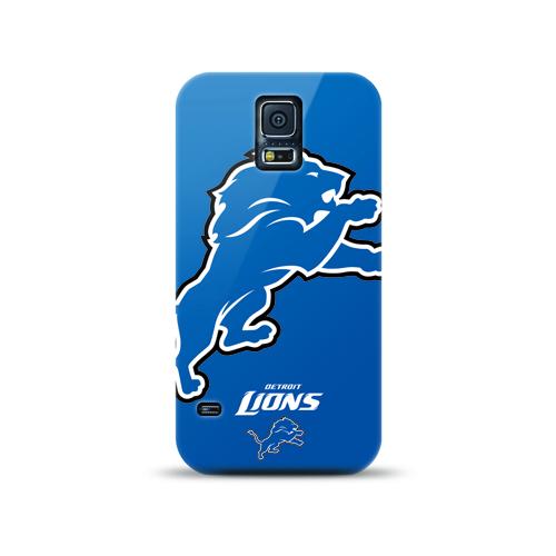 Mizco Sports NFL Oversized Snapback TPU Case for Samsung Galaxy S5 (Detroit Lions)