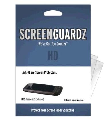 BodyGuardz - ScreenGuardz HD Anti Glare Screen Protector for HTC Desire