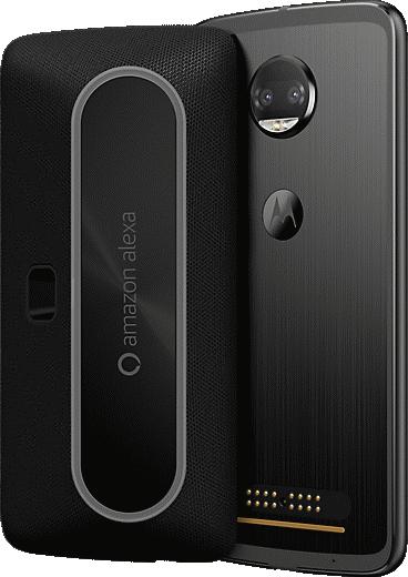 Moto Mods Smart Speaker with Amazon Alexa Moto Mod - Black