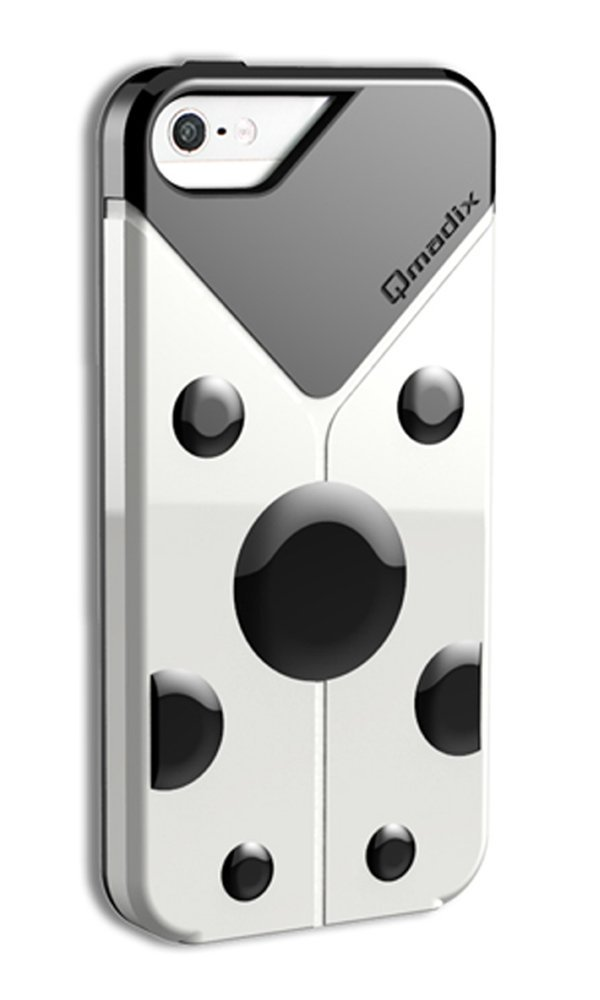 Qmadix LoveBug Protective Case for Apple iPhone 5 - White