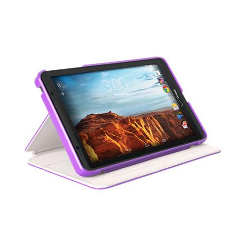 Verizon Folio Case for Verizon Ellipsis 8 - Purple