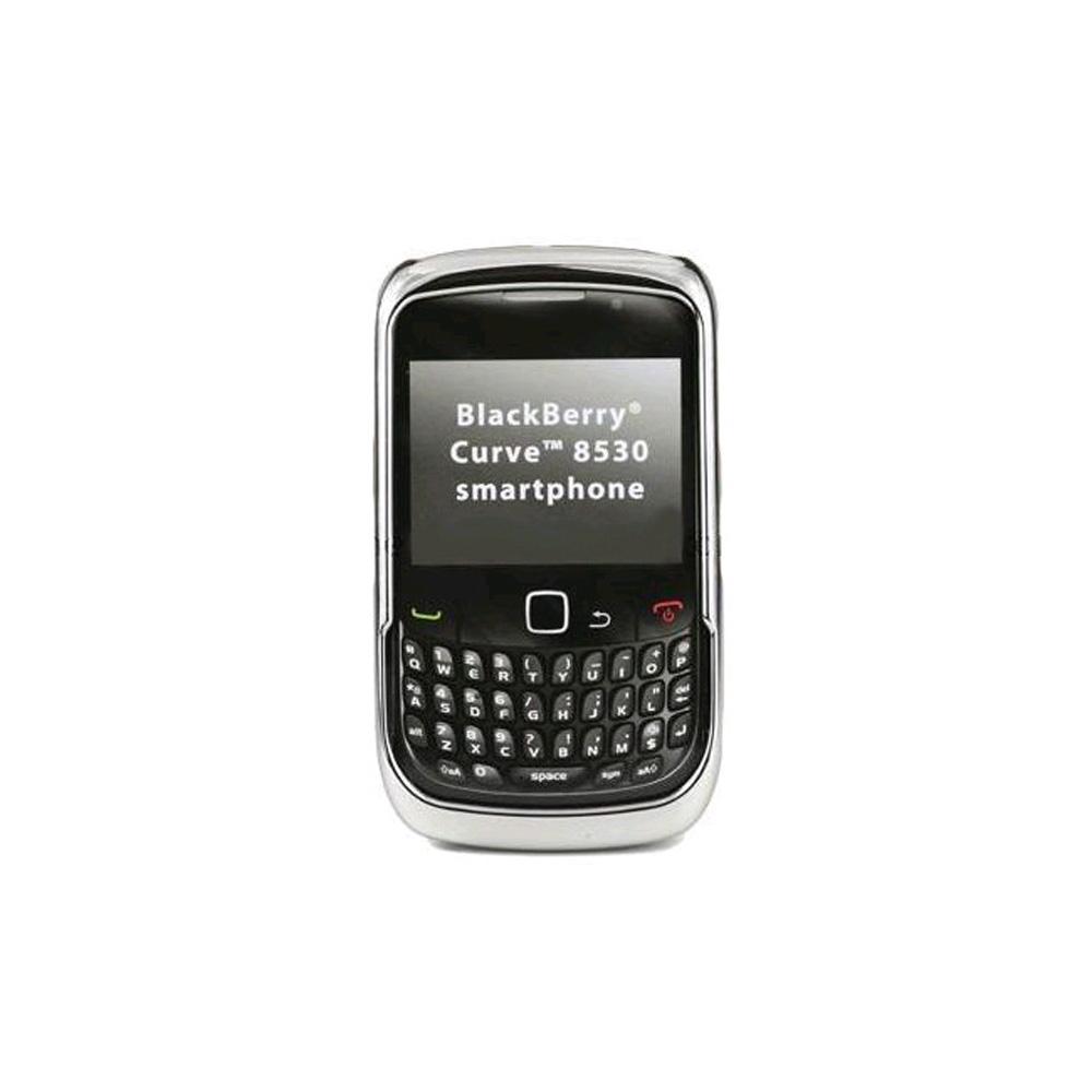 Verizon Snap-On Case for BlackBerry Curve 2 8530 - Chrome