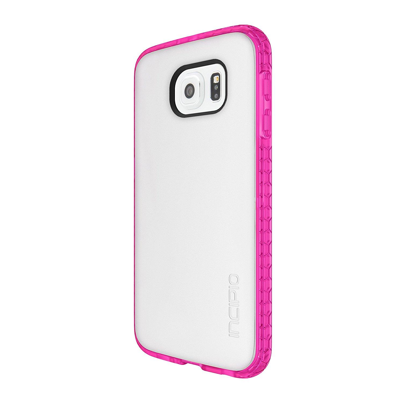 Incipio Octane Shock Absorbing Case for Samsung Galaxy S6 - Frost/Neon Pink