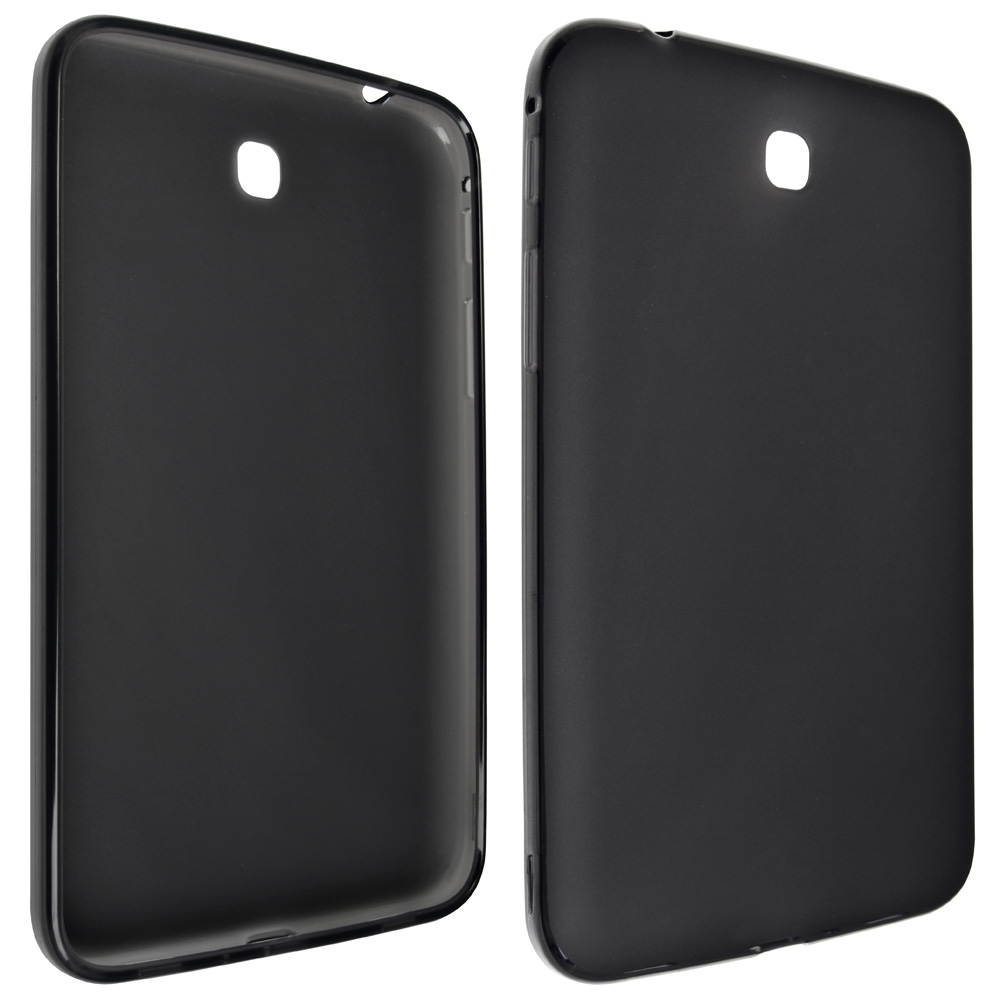 Technocel High Gloss Slider Gel Case for Samsung Galaxy Tab 3 - Black