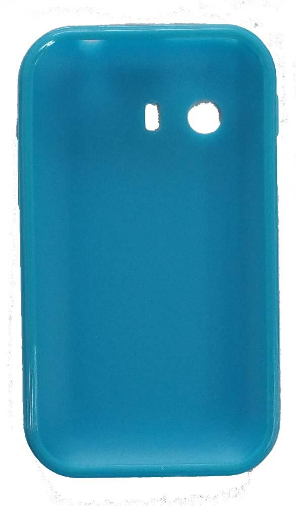 Quality One Wireless Anti Skid Gel Case for Samsung Galaxy Y S5360 - Light Blue