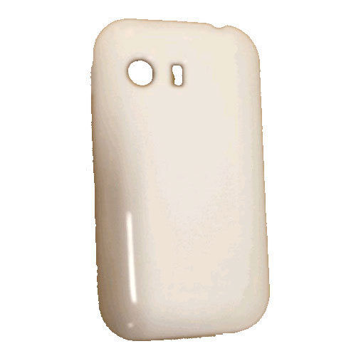 Quality One Wireless Anti Skid Slim Gel Case for Samsung Galaxy Y S5360 - White