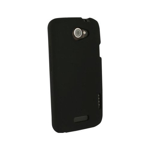 Unlimited Cellular Soft Silicone Case for HTC One X - Black