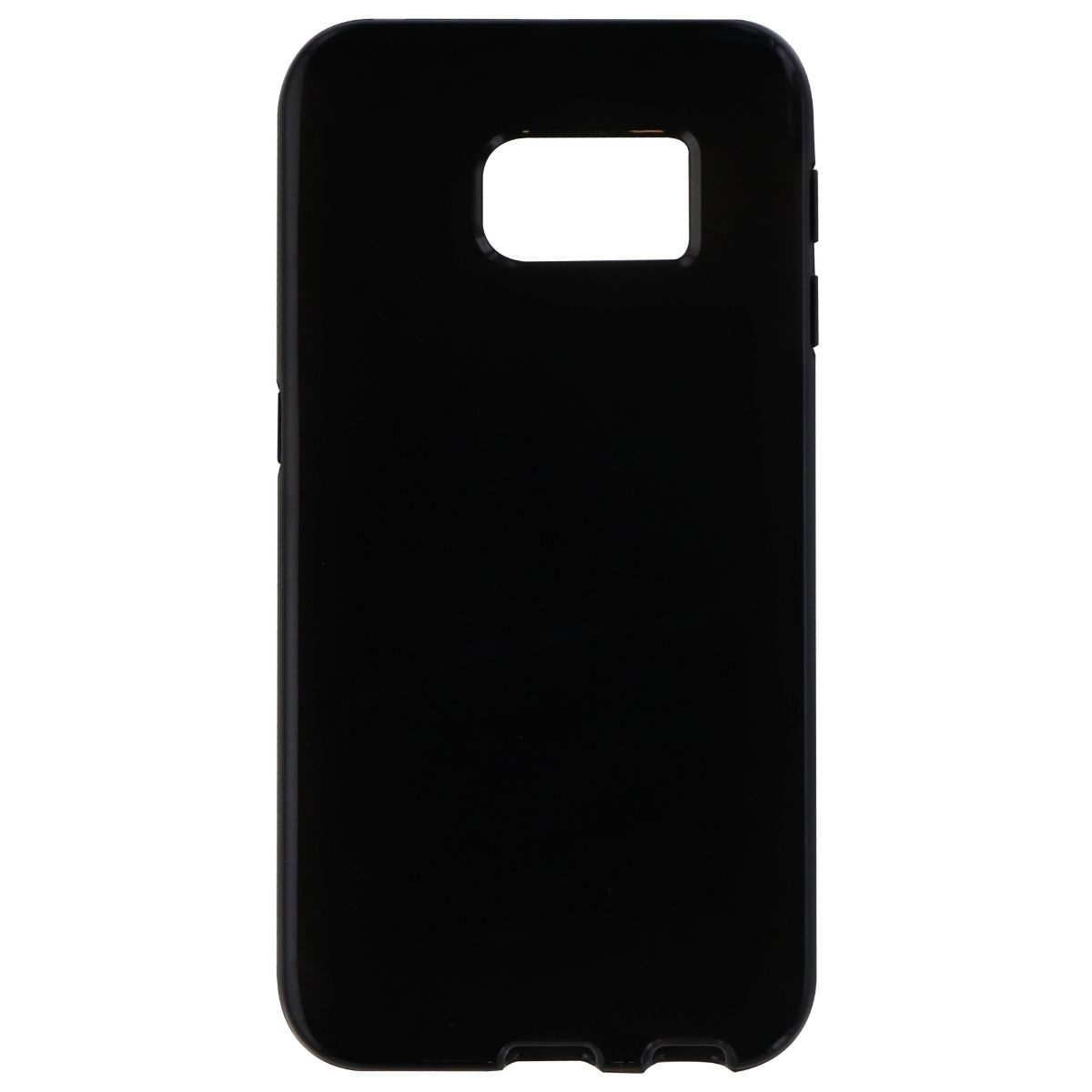 Verizon High Gloss Silicone Case for Samsung Galaxy S6 Edge - Black