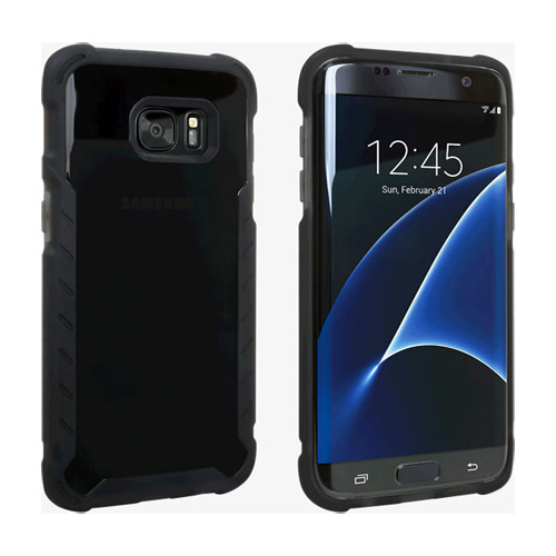 low priced 90122 e6edc Verizon Matte Silicone Case for Samsung Galaxy S7 Edge - Black