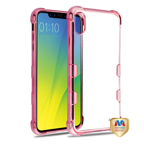 Mybat Rose Gold Plating Tuff Klarity Candy Skin Cover For Iphone Xs Max