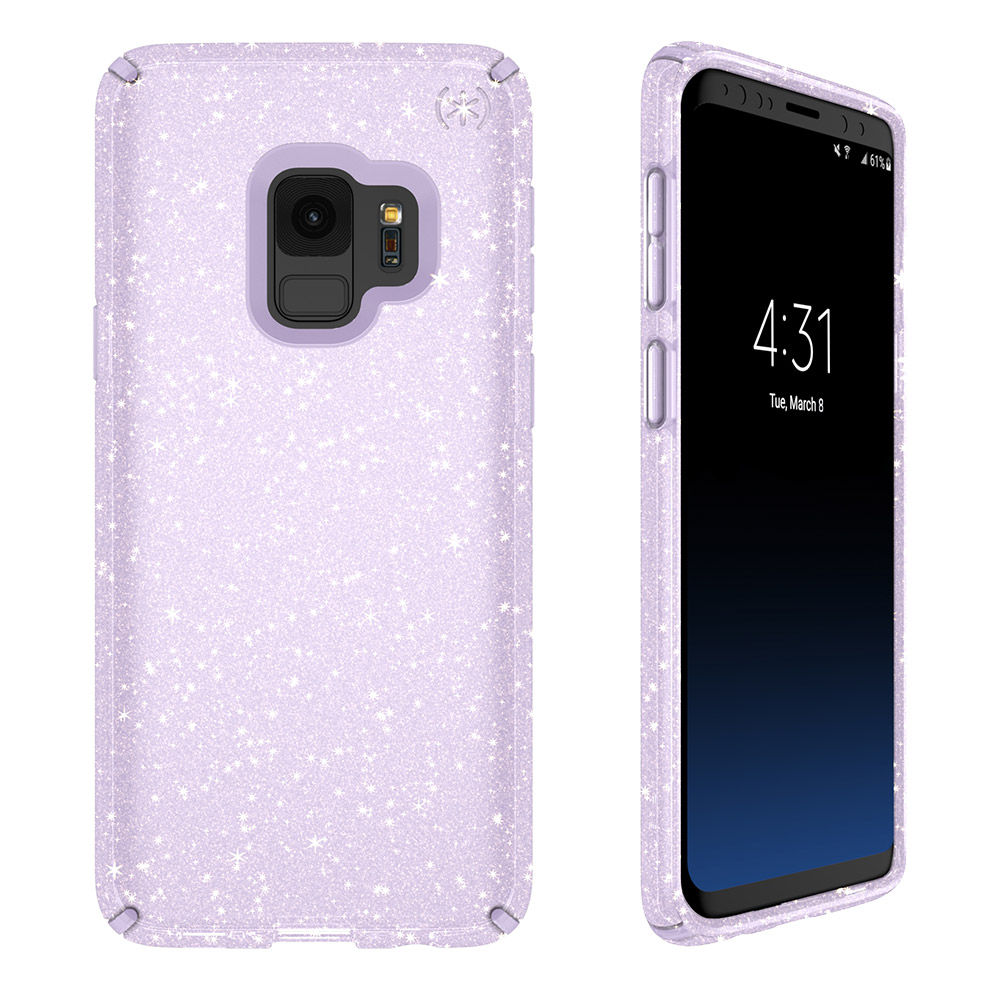 Speck Presidio Case for Samsung SS S9 Presidio Cl Glitter Pp/Gd