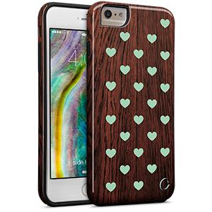 Cellairis Aero Case for Apple iPhone 6/S Plus - Aero Wood Heart Dark Min