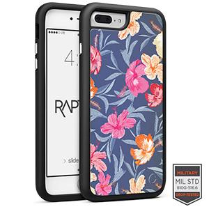 Cellairis Rapture Case for Apple iPhone 7 Plus - Rapt BK Flowers Tropical
