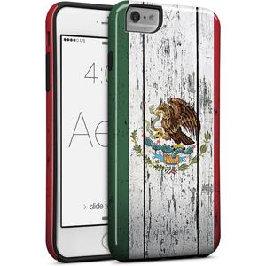 Cellairis Aero Case for Apple iPhone 6/S Plus - Aero Flag Mexico Wood