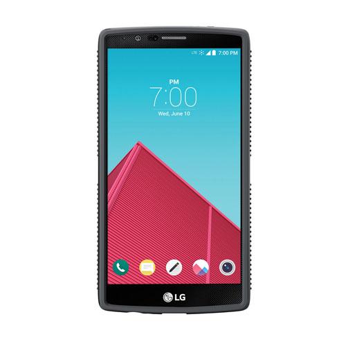 pretty nice 3768e 363bd Speck CandyShell Grip Case for LG G4 - Black/Slate Grey