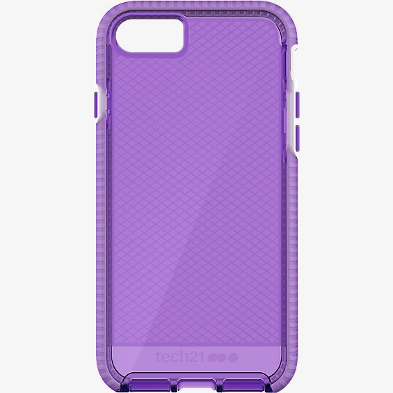 promo code 24f40 cd441 Tech21 Evo Check Case for iPhone 8 Plus/7 Plus - HopeLine Purple