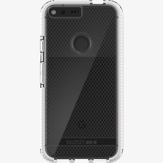 Tech21 Evo Check FlexShock Case for Google Pixel XL - Clear/White