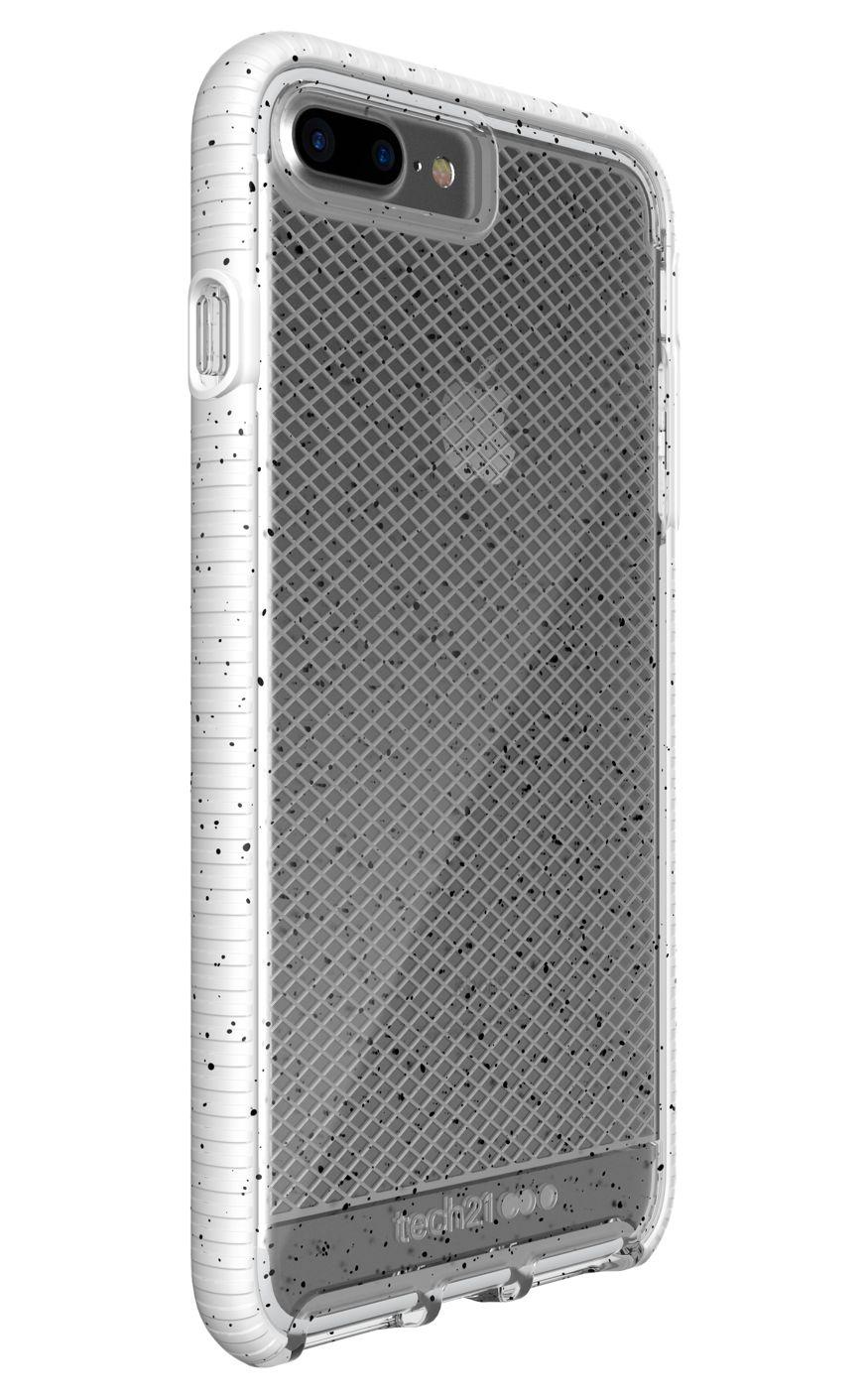 cheaper d1722 90e3d Tech21 Evo Check Active Edition for iPhone 8 Plus, 7 Plus - Clear/White
