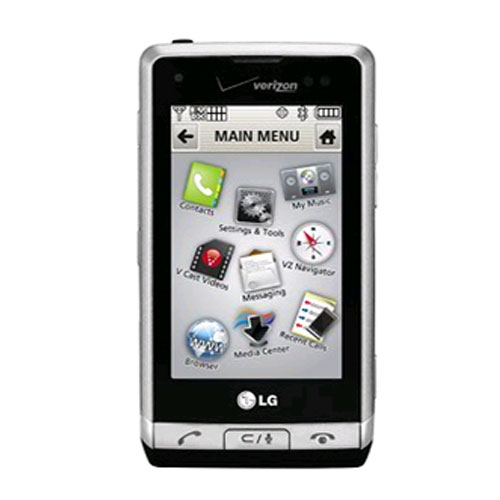 Lg dare vx9700 cell phone, touch screen, bluetooth, 3. 2 mp camera.