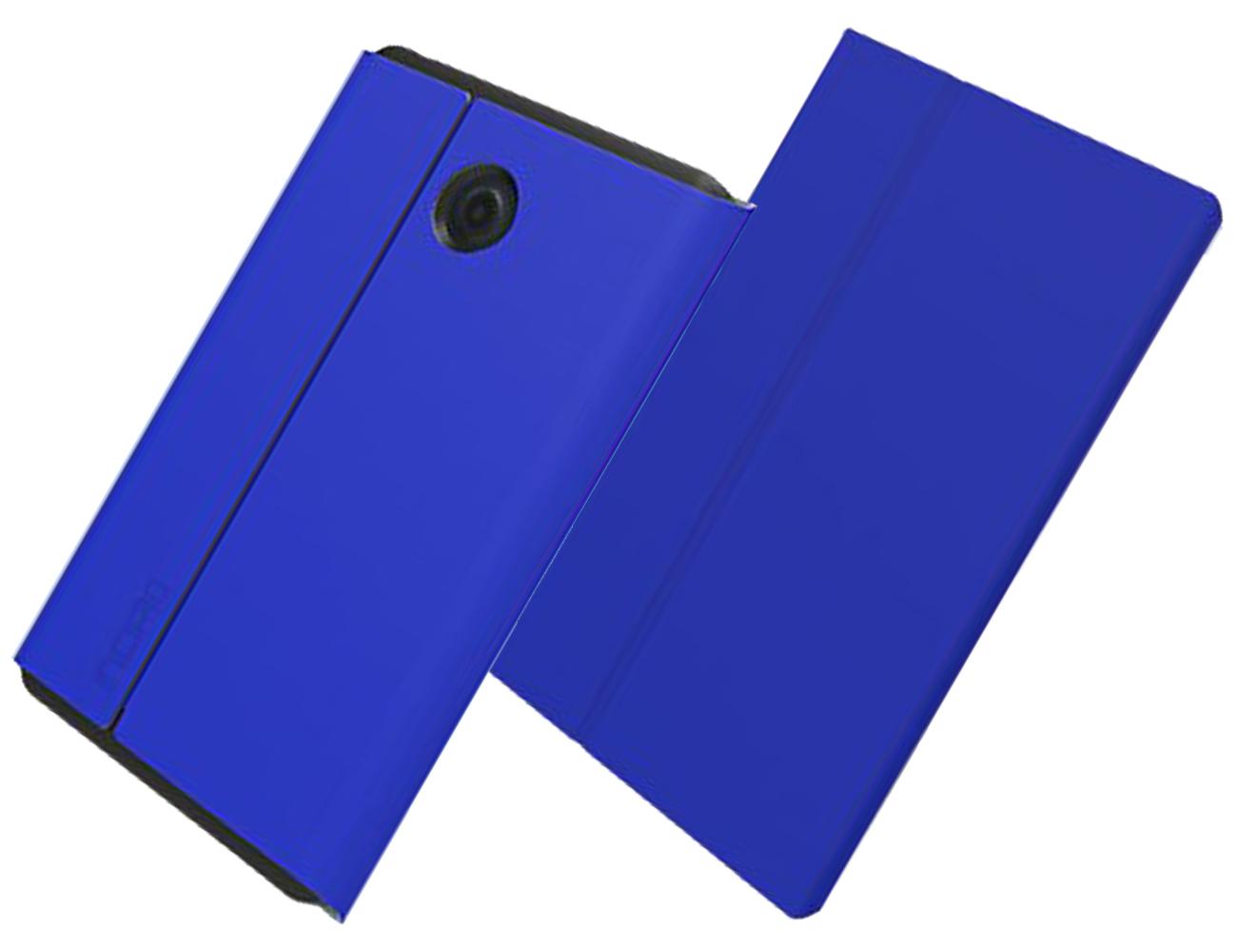 Incipio Faraday Magnetic Closure Folio Case for Verizon Ellipsis Kids, Ellipsis 8 - Dark Blue