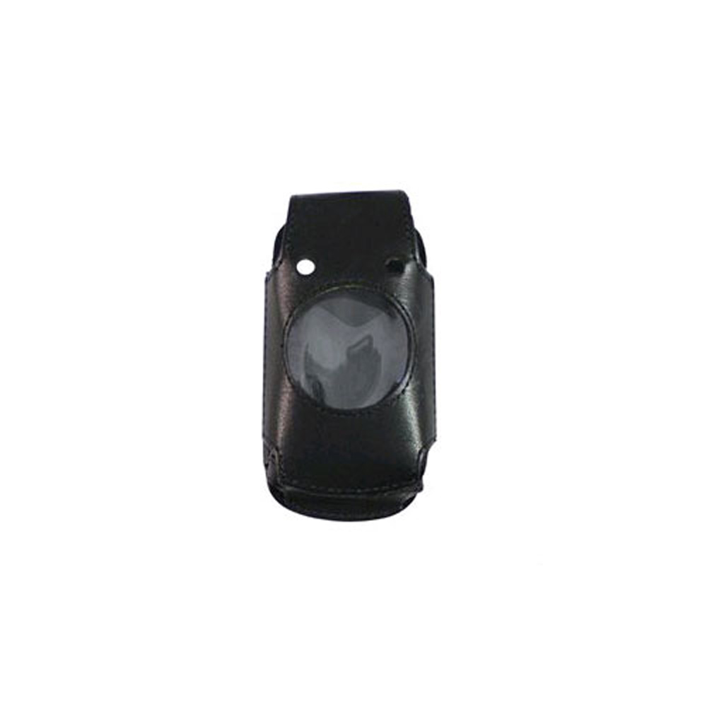 Verizon Swivel Belt Clip Leather Fitted Case for Casio G'zone Ravine C751 -Black