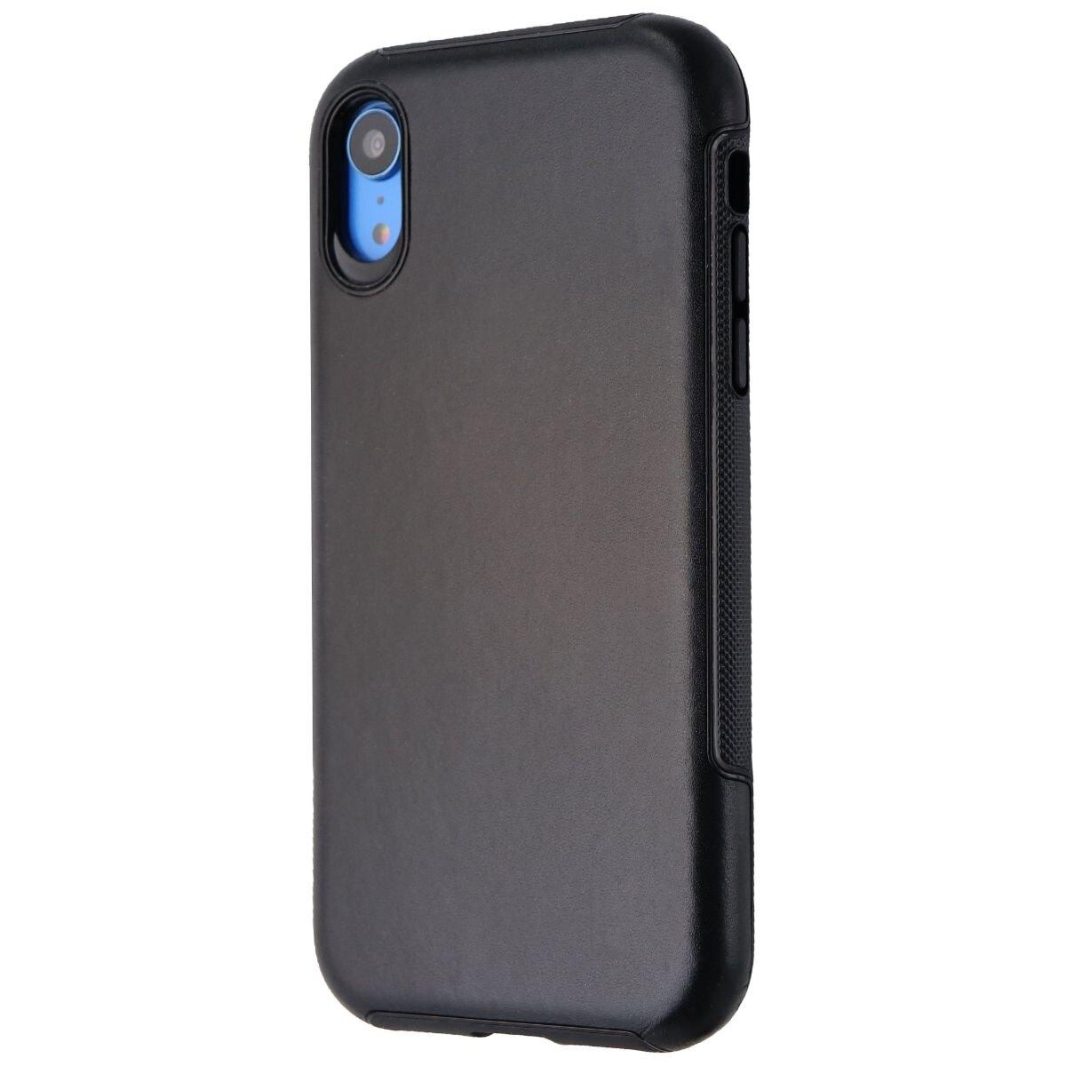 Verizon Genuine Leather Case for Apple iPhone XR - Black