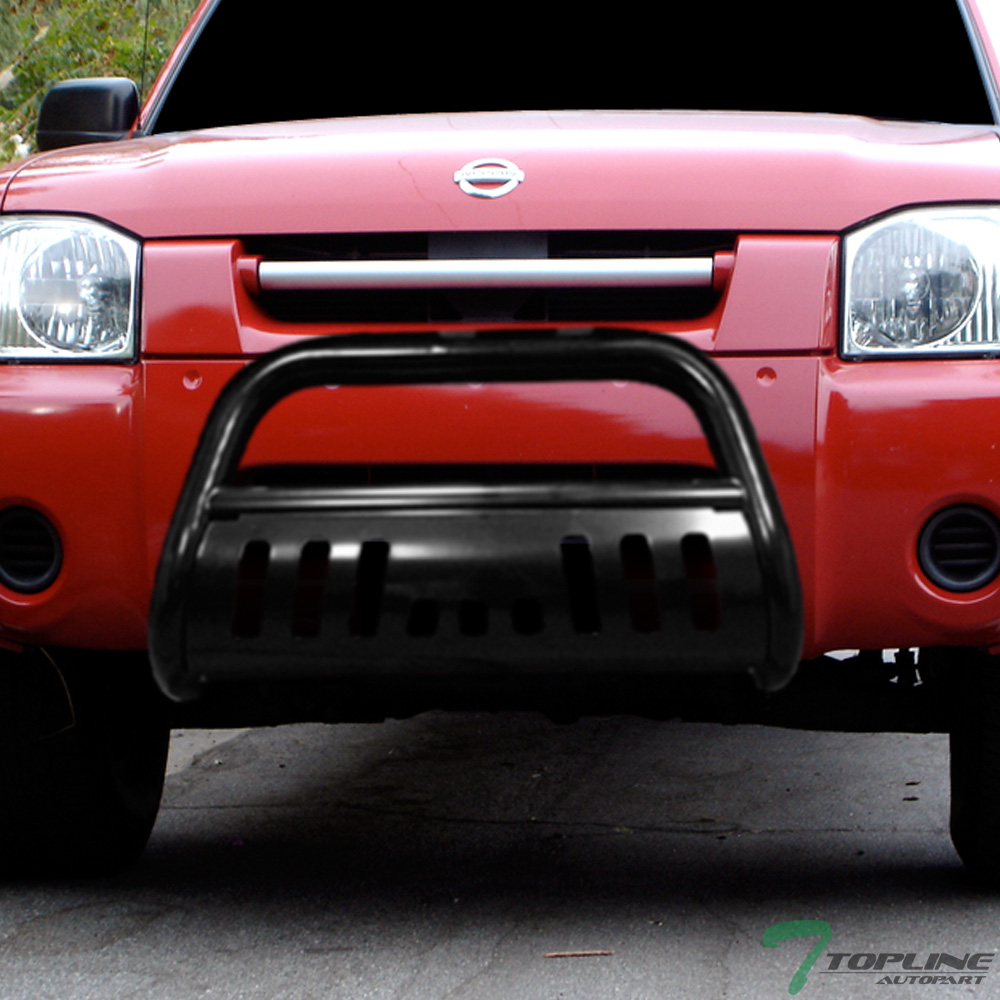 topline for 2001 2004 nissan frontier bull bar bumper grill grille guard black ebay details about topline for 2001 2004 nissan frontier bull bar bumper grill grille guard black