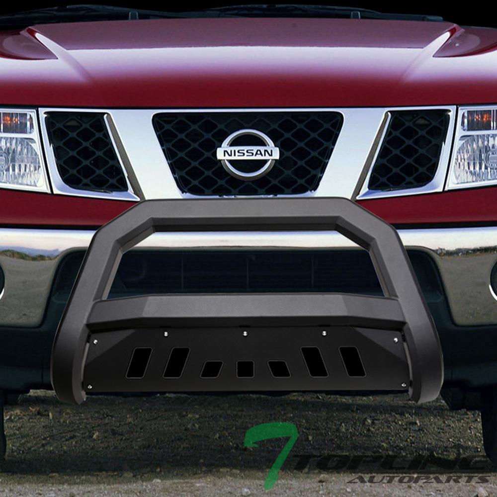 00-04 Xterra Black Super Bull Bar Bumper guard fit 98-04 Nissan Frontier