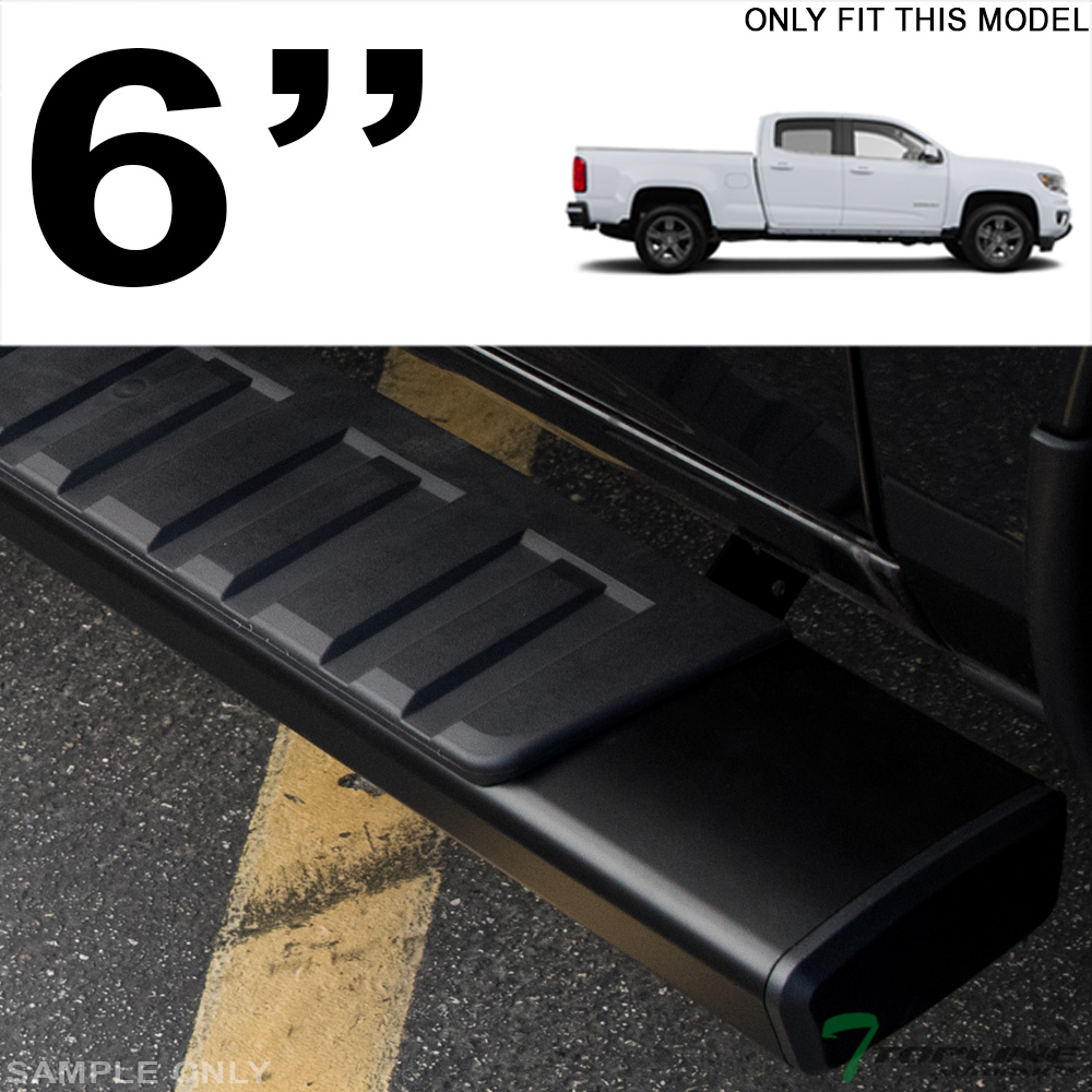"""For 2015-2019 Colorado//Canyon Crew 6/"""" Aluminum Side Step Running Boards"""