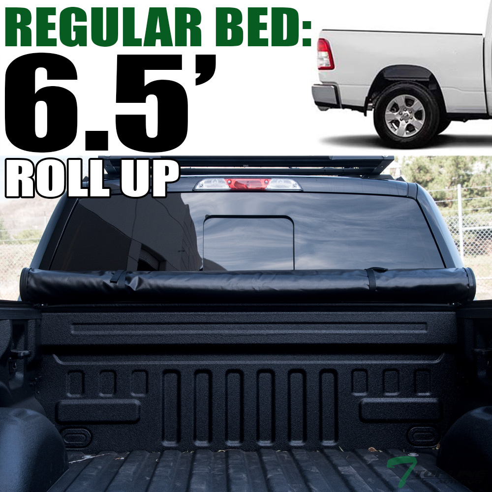 Details About Topline For 2019 2020 Dodge Ram 6 4 6 5 Ft Bed Lock Roll Up Vinyl Tonneau Cover