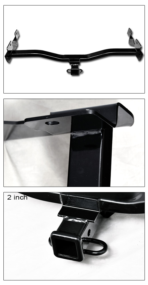 class 3 trailer hitch receiver rear bumper tow 2 for 2008. Black Bedroom Furniture Sets. Home Design Ideas