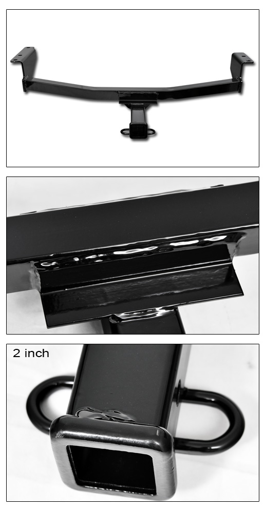 class 3 trailer hitch receiver rear bumper towing 2 for 2008 2016 nissan rogue ebay. Black Bedroom Furniture Sets. Home Design Ideas