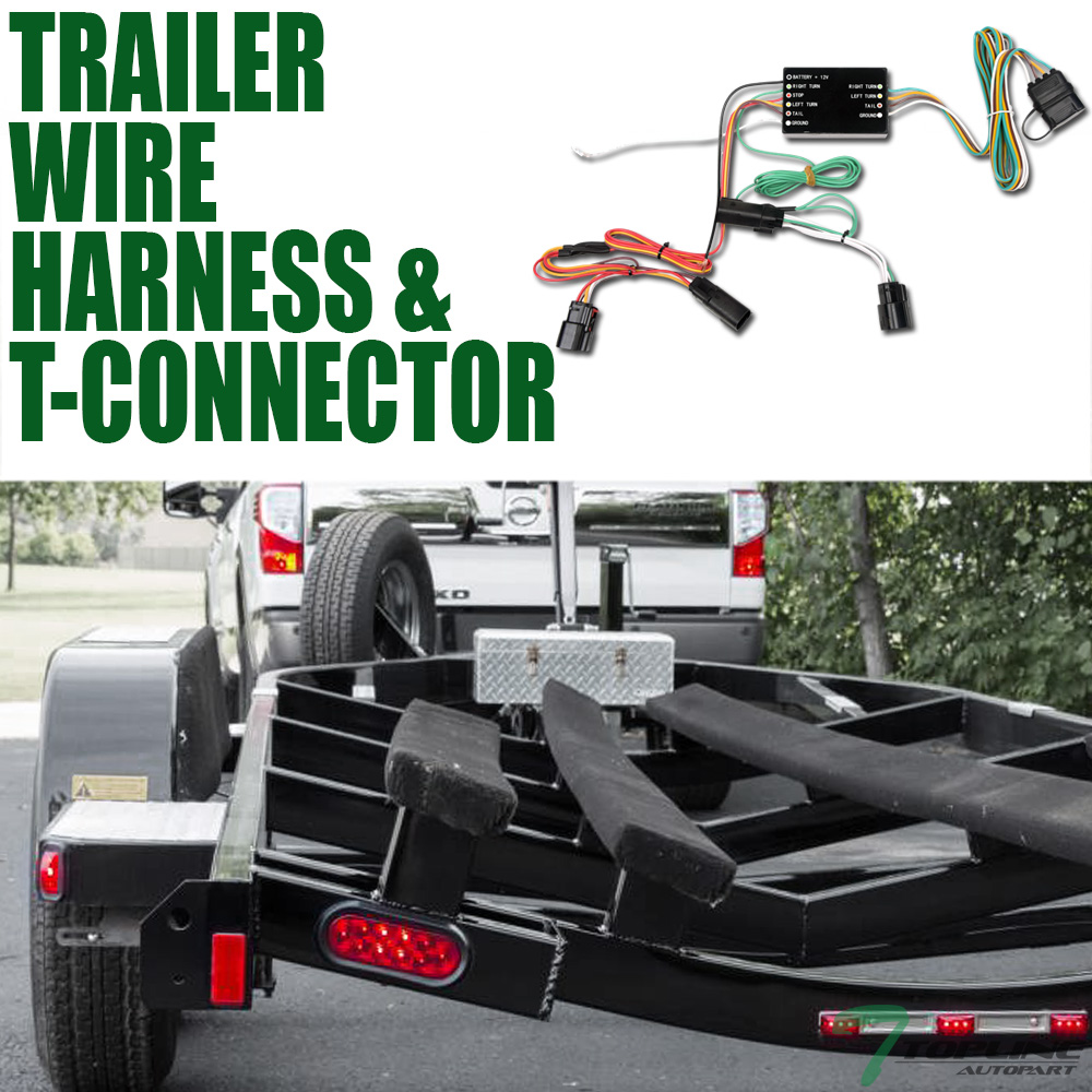 2011 f250 trailer wiring diagram topline for 2011 2014 ford edge trailer hitch 4 way wiring harness  2011 2014 ford edge trailer hitch 4 way
