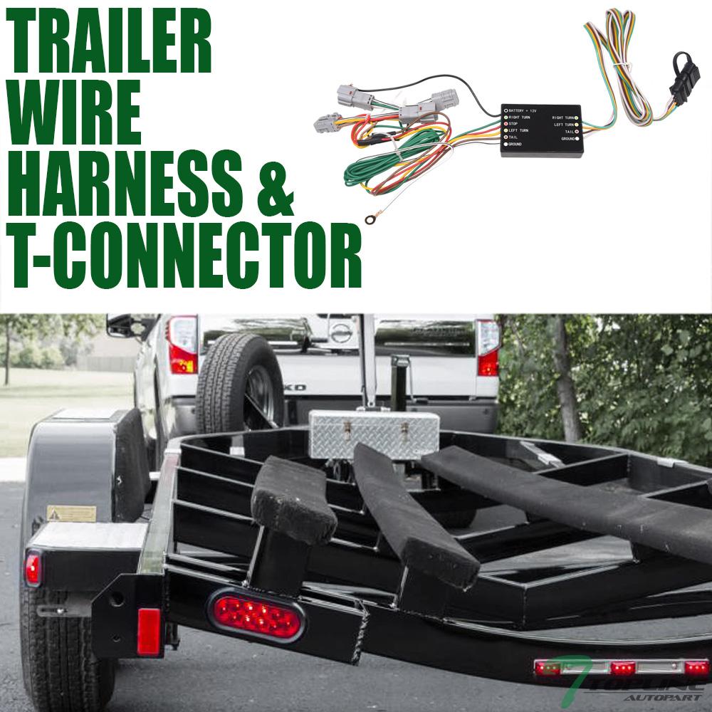 2010 toyota highlander trailer wiring harness topline for 2010 2017 tucson trailer hitch 4 way wiring harness  trailer hitch 4 way wiring harness