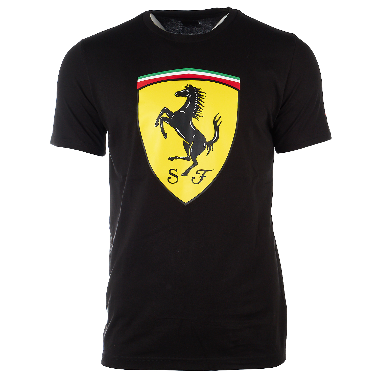 online homme avec shirt shirts sleeve logo scuderia store t mc fr ferrari short f scudetto