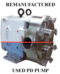 AMPCO Remanufactured Pump vs Used PD Pump