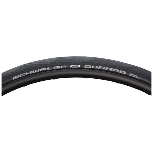 Schwalbe Durano Tire, 700x25 Folding Blk w Dual Compound Tread and RaceGuard