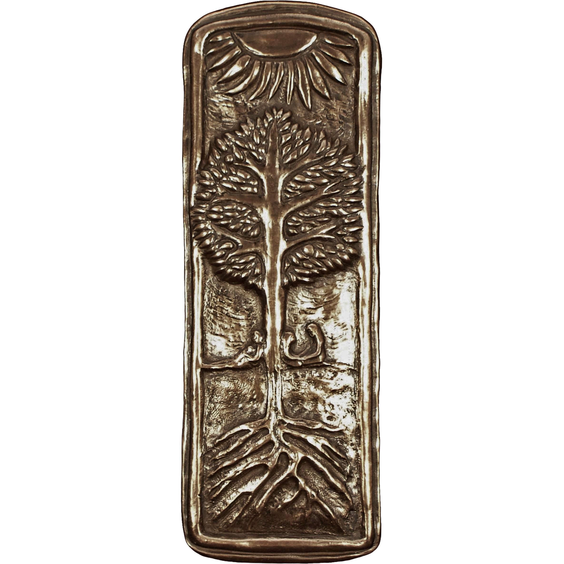 New family tree celtic symbol plaque bronze coated irish made family tree celtic symbol irish plaque wild goose studio sku 349bbz buycottarizona Gallery